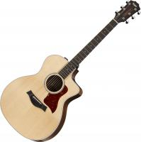 Acoustic guitar Taylor 214ce-CF DLX - Natural