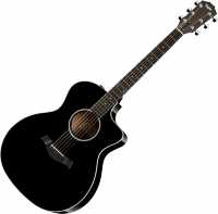 Acoustic guitar Taylor 214CE DLX Grand Auditorium - Black