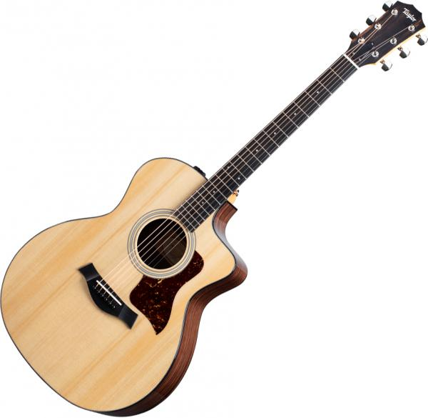 Acoustic guitar & electro Taylor 214ce Plus - Natural