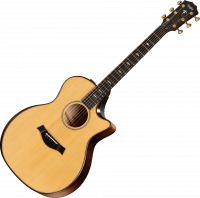 Acoustic guitar Taylor 614CE Builder's Edition WHB V-Class 2019 - Natural