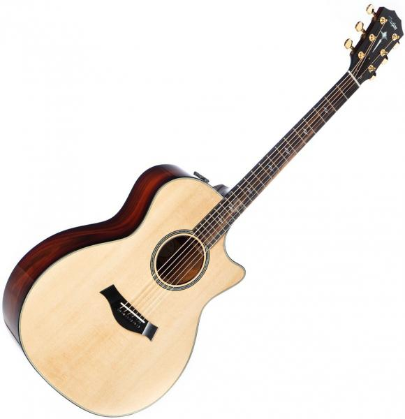 Acoustic guitar & electro Taylor 814ce-LTD V-Class Bracing 2020 - natural