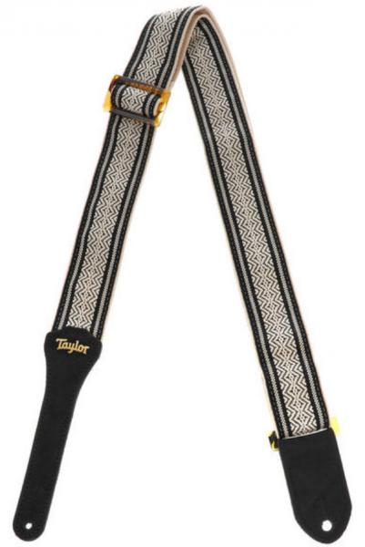 Guitar strap Taylor Academy Guitar Strap - White/Black