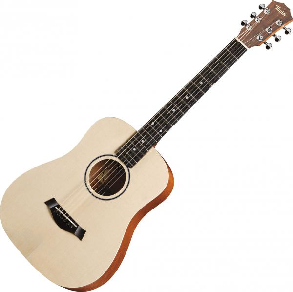 Travel acoustic guitar  Taylor Baby Spruce Walnut BT1E Dreadnought Mini - Naturel