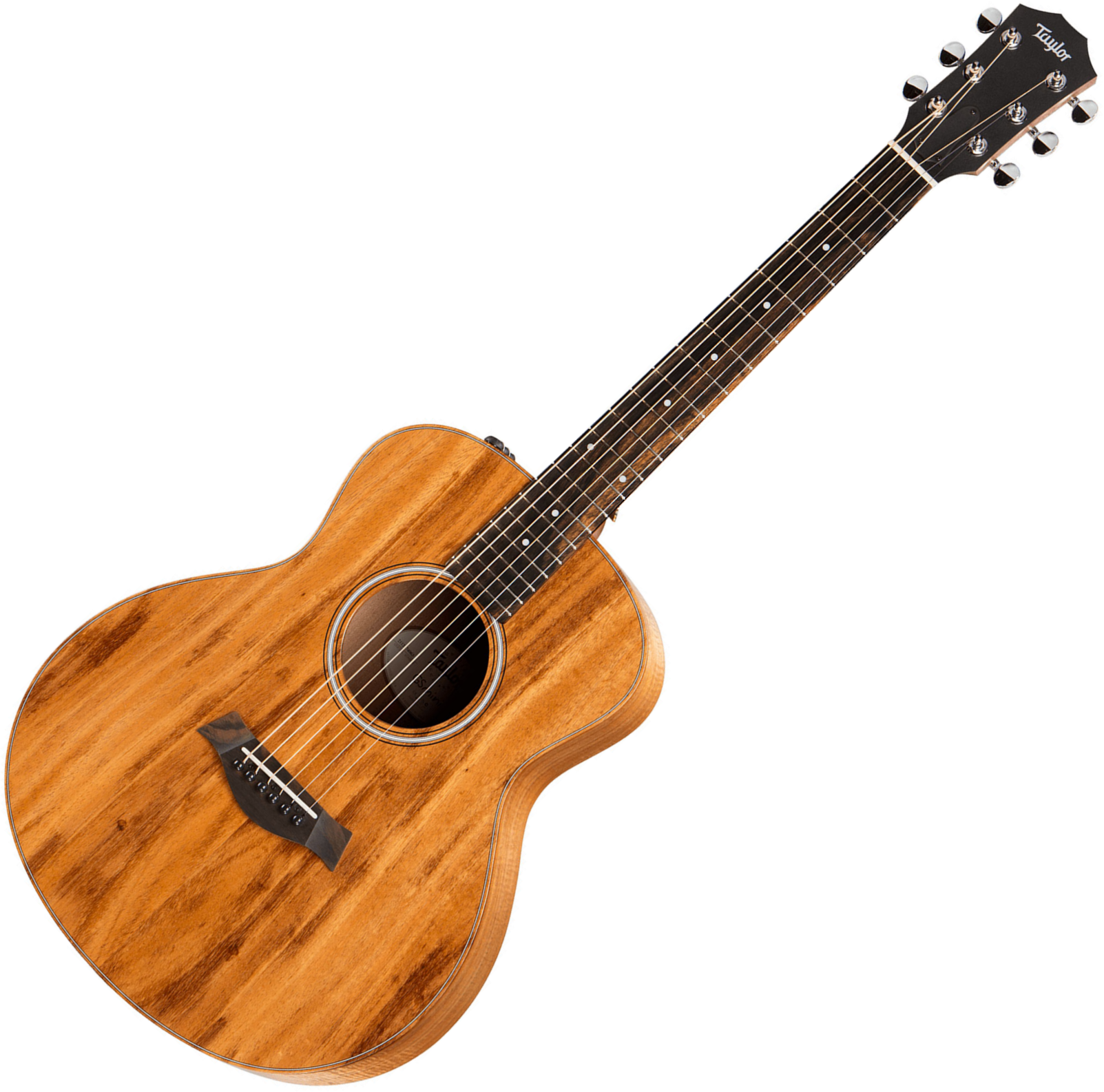 taylor gs mini e koa natural gloss travel acoustic guitar star 39 s music. Black Bedroom Furniture Sets. Home Design Ideas