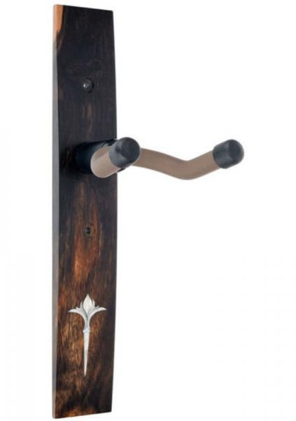 Stand for guitar & bass Taylor Nouveau Guitar Hanger - Ebony, Acrilyc Inlay - Ebony, No Inlay