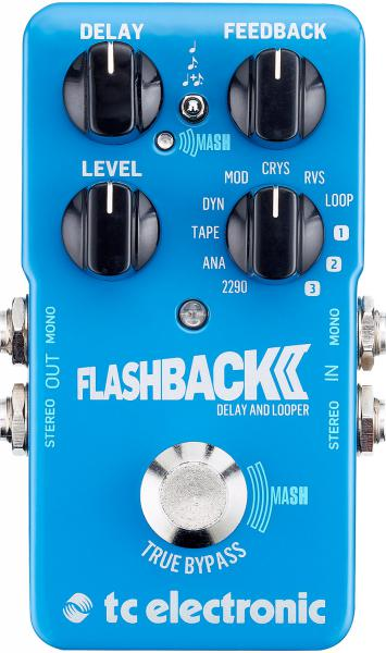 Reverb, delay & echo effect pedal Tc electronic Flashback 2 Delay