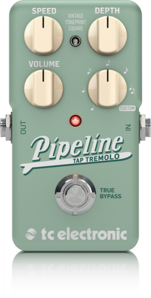 Modulation, chorus, flanger, phaser & tremolo effect pedal Tc electronic Pipeline Tap Tremolo