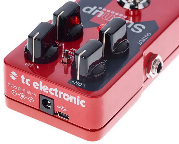 tc electronic sub 39 n 39 up octaver harmonizer effect pedal star 39 s music. Black Bedroom Furniture Sets. Home Design Ideas