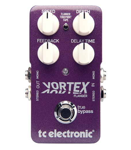 Modulation, chorus, flanger, phaser & tremolo effect pedal Tc electronic Vortex Flanger