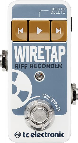 Portable recorder Tc electronic Wiretap Riff Recorder