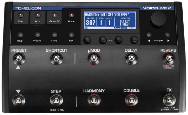 Processor effect for studio & pa Tc-helicon VoiceLive 2