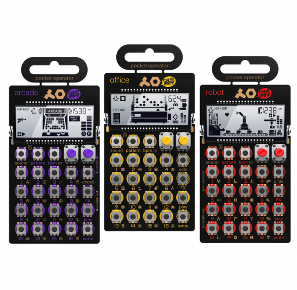 Home studio set Teenage engineering PO-20 Serie Pocket Operator Bundle