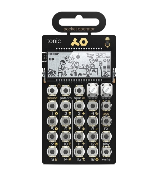 Drum machine Teenage engineering PO-32 Tonic