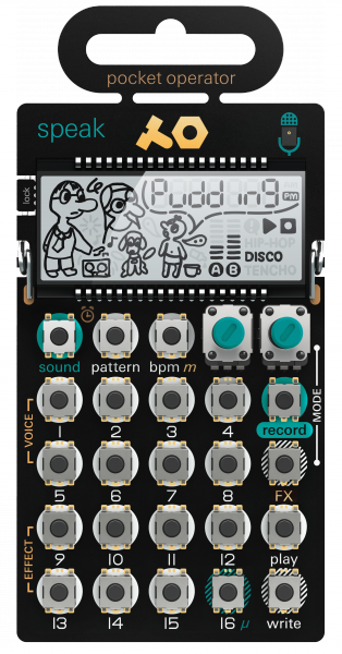 Expander Teenage engineering PO-35 speak