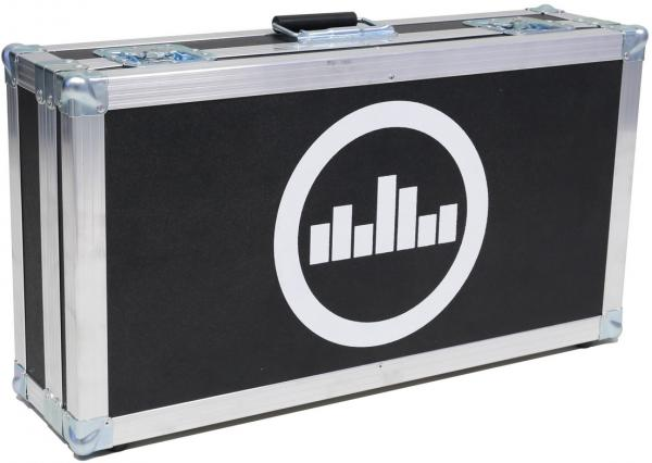 Flightcase pedalboard for effect pedal Temple audio design Flight Case For Templeboard Duo 24