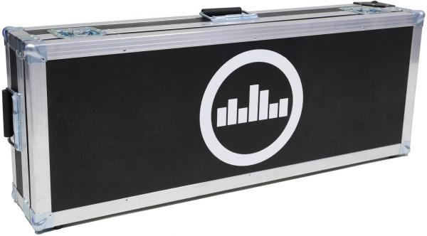 Flightcase pedalboard for effect pedal Temple audio design Flight Case For Templeboard Duo 34