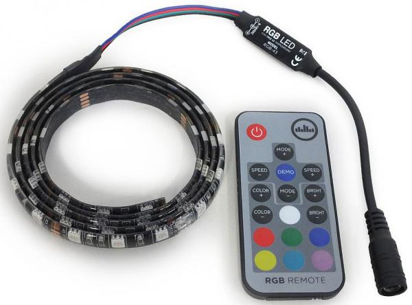 More access for guitar effects Temple audio design RGB LED Light Strip With Remote For Solo 18