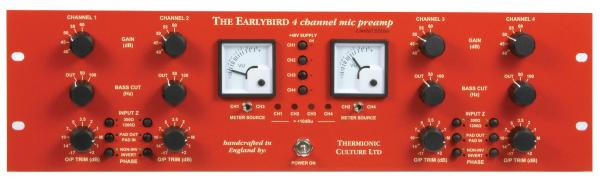 Preamp Thermionic culture EarlyBird 4