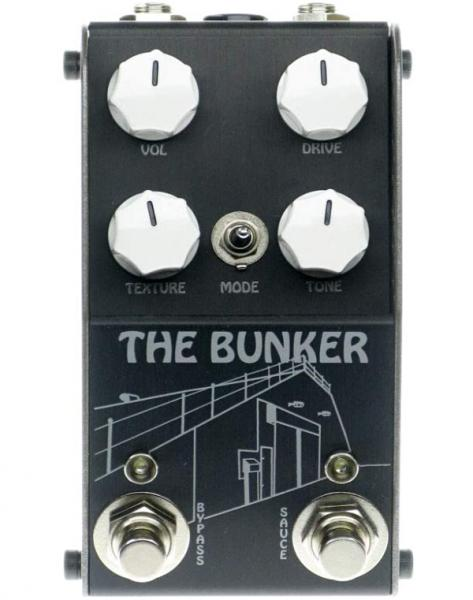 Overdrive, distortion & fuzz effect pedal Thorpyfx The Bunker Drive