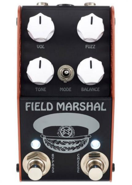 Overdrive, distortion & fuzz effect pedal Thorpyfx The Field Marshal Fuzz