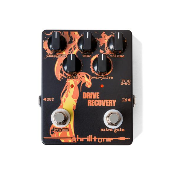 Overdrive, distortion & fuzz effect pedal Thrilltone Drive Recovery