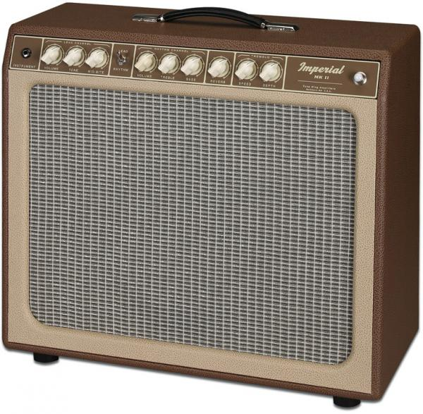 Electric guitar combo amp Tone king Imperial MK II - Brown/Beige