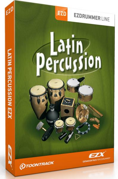 Sound bank Toontrack Latin Percussion EZX