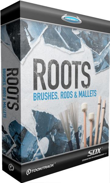Sound bank Toontrack Roots Brushes Rods Mallets SDX