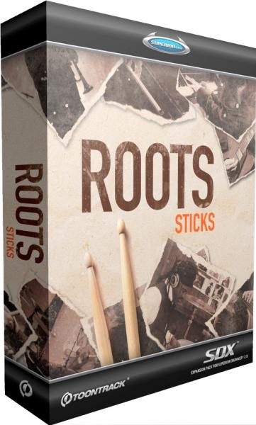 Sound bank Toontrack Roots Sticks SDX