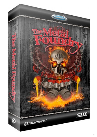 Sound bank Toontrack SDX The Meta Foundry