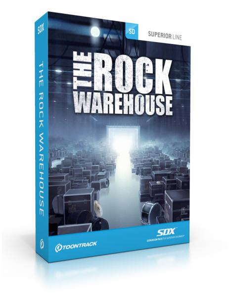 Sound bank Toontrack The Rock Warehouse SDX