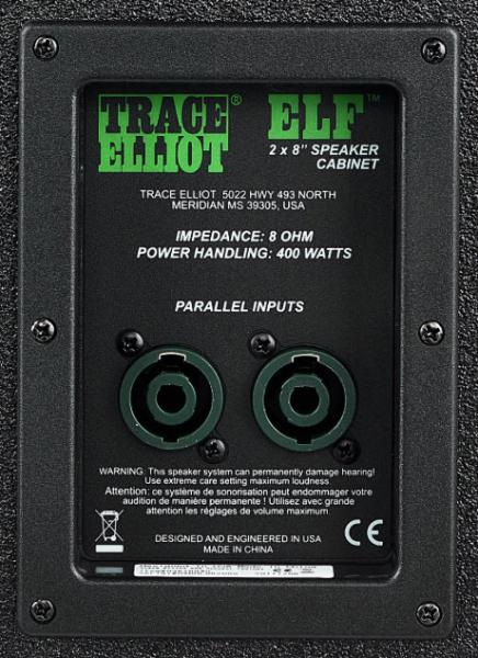 Bass amp cabinet Trace elliot ELF 2x8 Cab