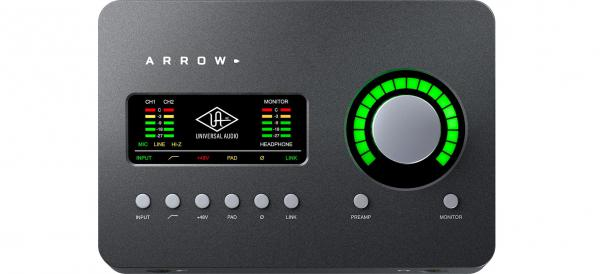 Thunderbolt audio interface Universal audio Arrow