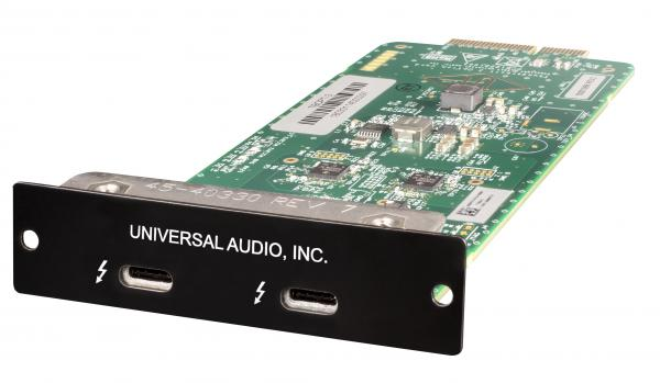 Others formats (madi, dante, pci...)  Universal audio TBOC-3