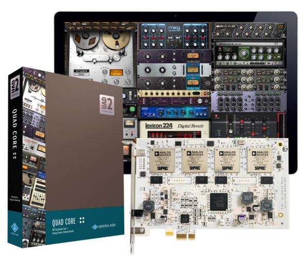 Others formats (madi, dante, pci...)  Universal audio UAD-2 PCIe Quad Core