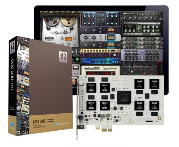 Others formats (madi, dante, pci...)  Universal audio UAD-2 Octo Core