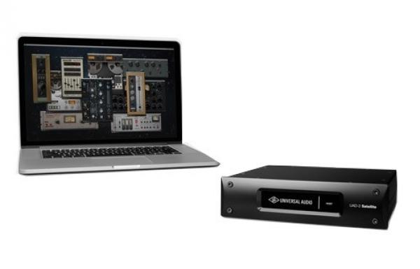 universal audio uad 2 satellite thunderbolt octo core audio interface star 39 s music. Black Bedroom Furniture Sets. Home Design Ideas