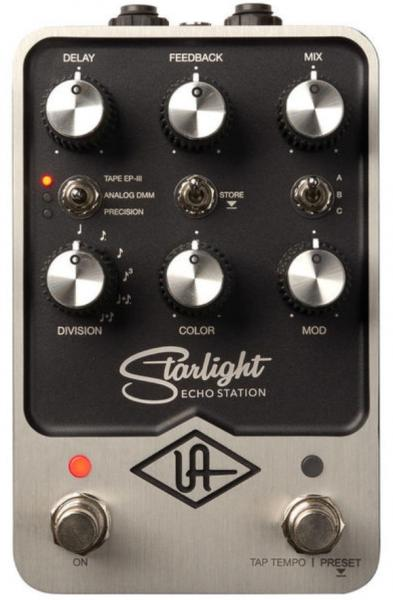 Reverb, delay & echo effect pedal Universal audio UAFX Starlight Echo Station