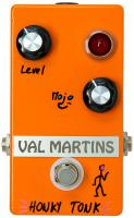 Overdrive, distortion & fuzz effect pedal Val martins Honky Tonk