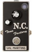 Overdrive, distortion & fuzz effect pedal Val martins Nico Chona N.C. Tone Factory Overdrive