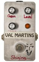 Overdrive, distortion & fuzz effect pedal Val martins Shining