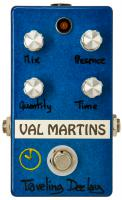 Reverb, delay & echo effect pedal Val martins Traveling Deelay