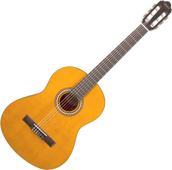 Classical guitar 4/4 size Valencia VC204H Hybrid - Natural