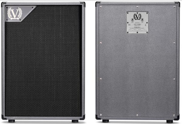Electric guitar amp cabinet Victory amplification V212-VG - Grey