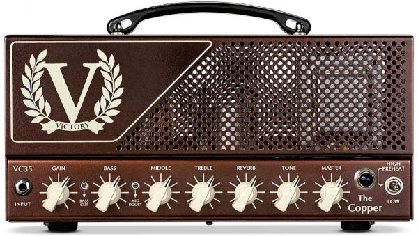 Electric guitar amp head Victory amplification VC35 The Copper Head