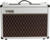 Electric guitar combo amp Vox AC15C1-WB Ltd - White Bronco