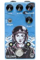 Modulation, chorus, flanger, phaser & tremolo effect pedal Walrus Lillian Multi-Stage Analog Phaser