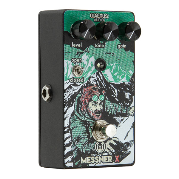 Overdrive, distortion & fuzz effect pedal Walrus Messner X Limited