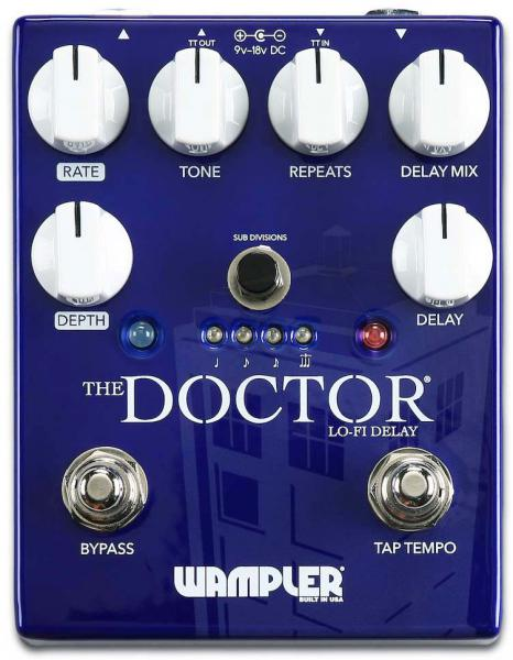 Reverb, delay & echo effect pedal Wampler The Doctor LoFi Ambient Delay