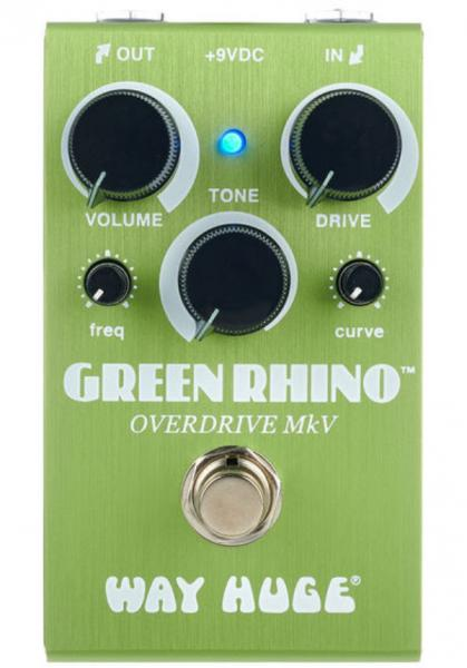 Overdrive, distortion & fuzz effect pedal Way huge Smalls Green Rhino Overdrive MKV WM22
